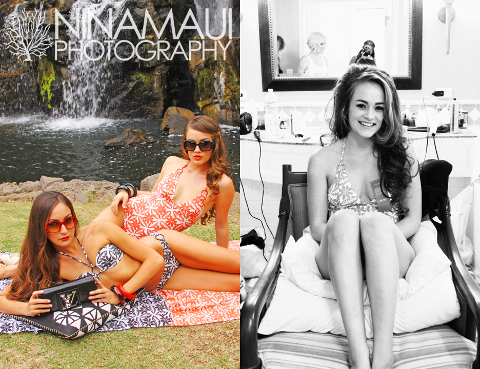 Nina Maui Photography Grand Wailea Fashion Sneak Peek at our Fashion Shoot in Wailea!