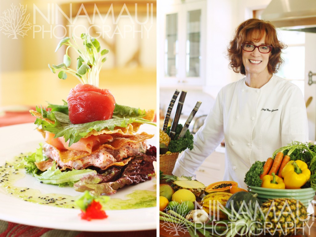 Nina Maui Photography Haile Maile 3 1024x768 Haliimaile General Store Back Cover Ad for Upcountry Dining Magazine