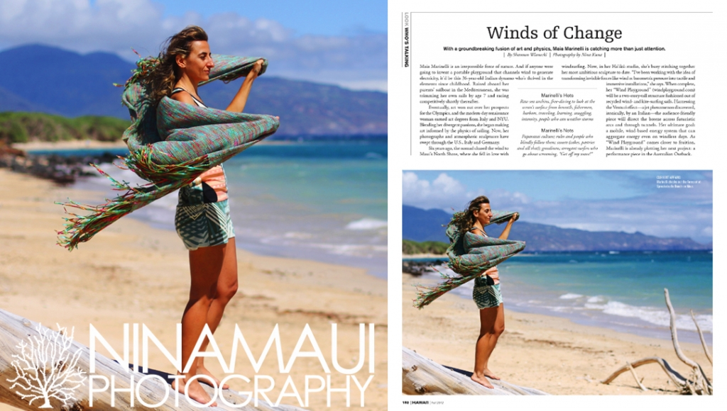 Nina Maui Photography Maia Marinelli Maui 1024x580 Portrait of Maia Marinelli for Modern Luxury Hawaii